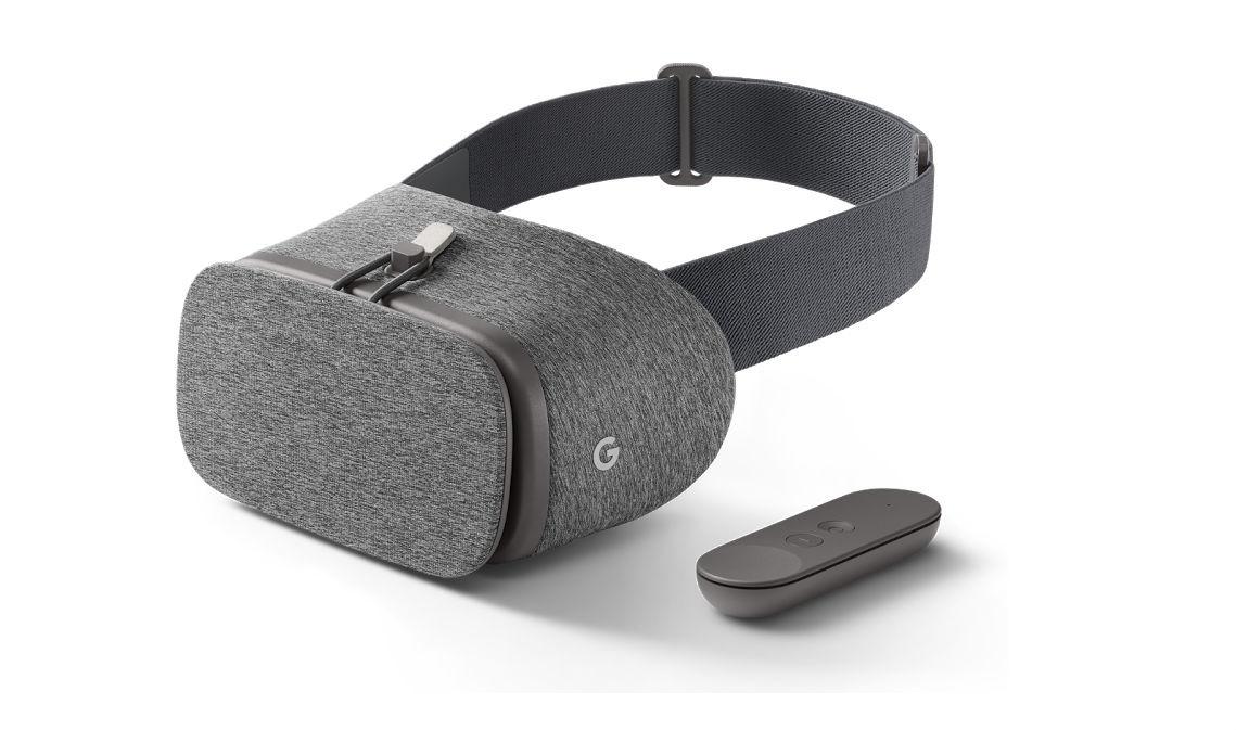 Daydream-Headset mit Textil-Oberfläche
