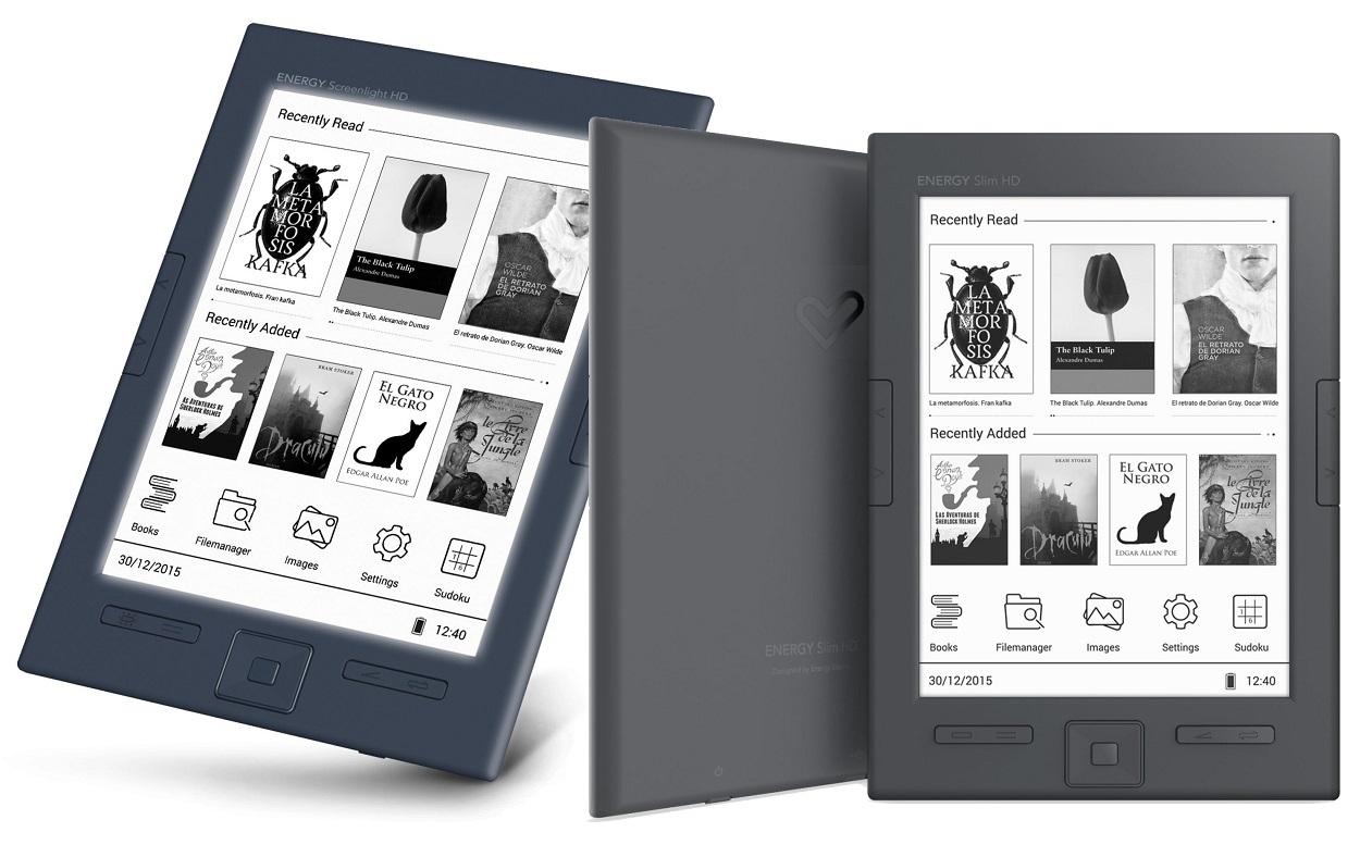 E-Reader Energy Sistem Schlanke HD eReader, Geschenke für die Großmutter, Oma