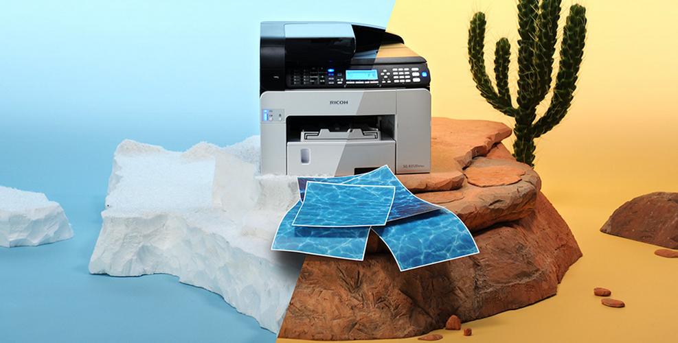 Ricoh GELJET Drucker - schnell, günstig, hohe Druckqualität