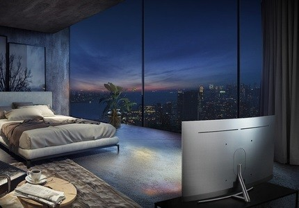 Samsung Smart TV im 360-Grad-Design
