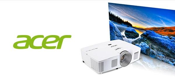 Überlebensgroß: Acer Video Projektoren