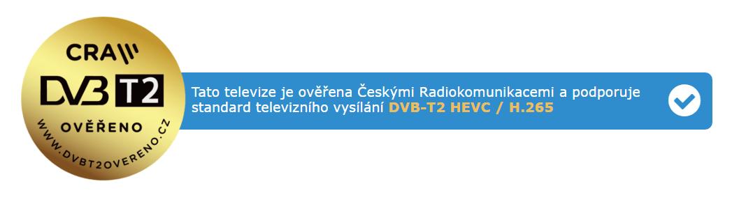 DVB-T2 ověřeno, logo
