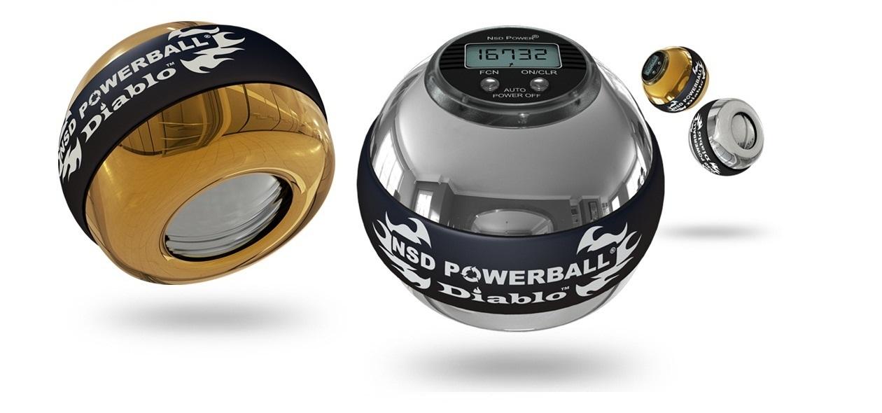 Powerball - hervorragend geeignet für Übungen und Physiotherapie