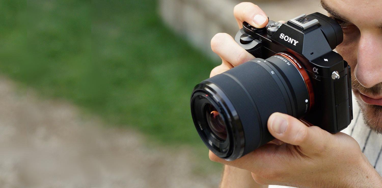 Sony Alpha 7 - Eine spiegellose vollformat-Kamera mit Wechselobjektiv