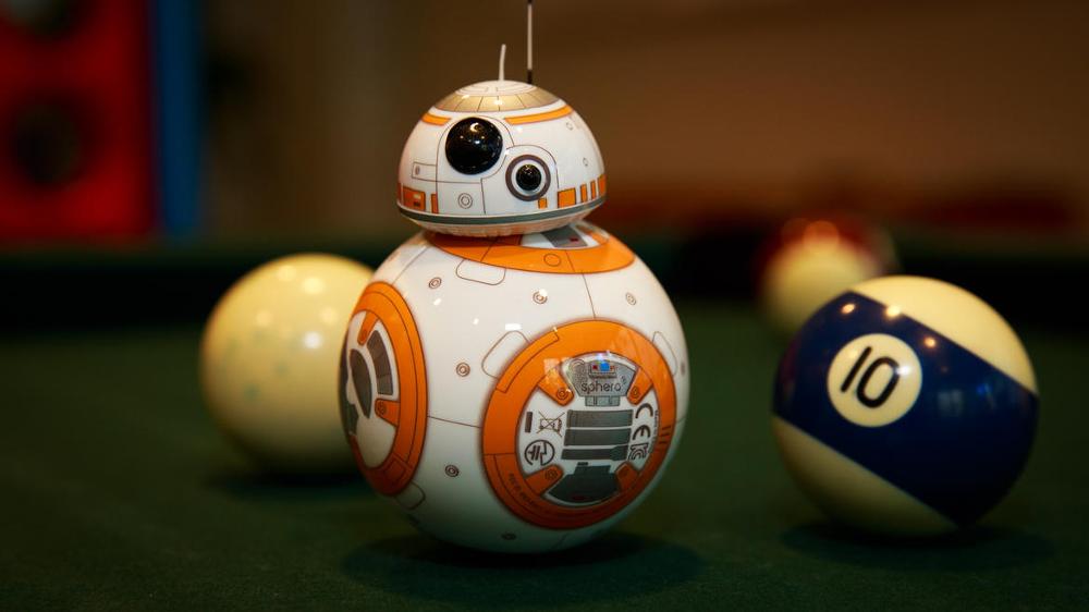 Entdecken Sie die Galaxie mit Ihrem eigenen BB-8 Droid!