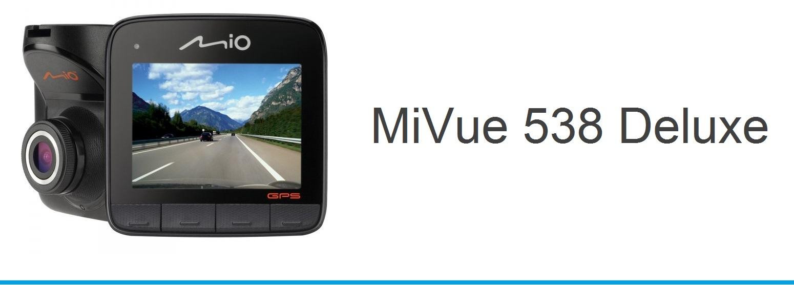 kamera MIO MiVue 538 Deluxe