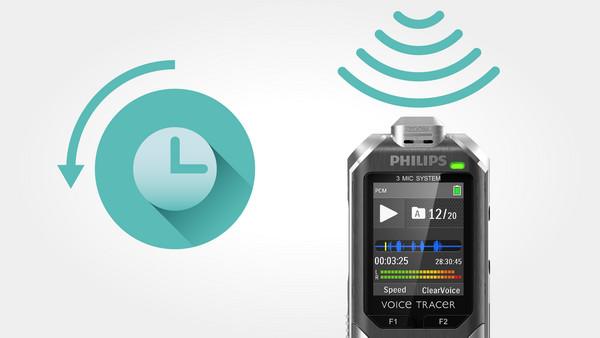Philips DVT6000 Schwarz und Silber