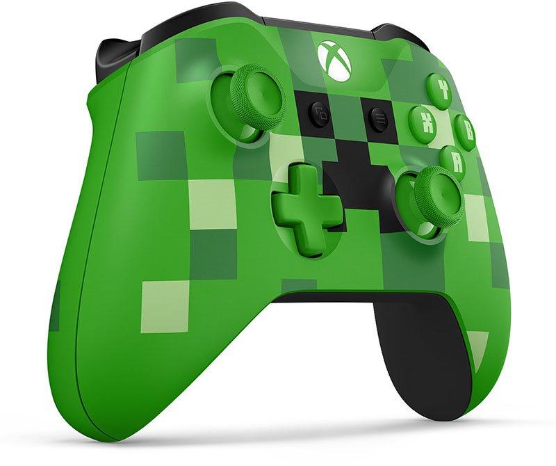 Xbox One Wireless Controller Minecraft Creeper Gamepad Alzade - Minecraft controller spielen