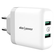 AlzaPower Q200 Quick Charge 3.0 White - Ladegerät