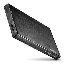 AXAGON EE25-XA6 ALINE schwarz - Externe Box