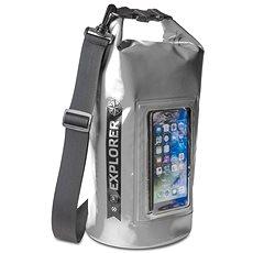 """CELLY Explorer 5L mit einer Tasche am Telefon bis zu 6,2 """"grau - Sack"""