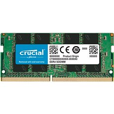 Crucial SO-DIMM 8GB DDR4 2400MHz CL17 Single Ranked x8 - Arbeitsspeicher