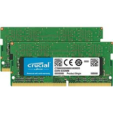 Crucial SO-DIMM 16GB KIT DDR4 2666MHz CL19 Single Ranked - Arbeitsspeicher