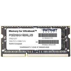 Patriot SO-DIMM 8GB DDR3 1600MHz CL11 Ultrabook Line - Arbeitsspeicher