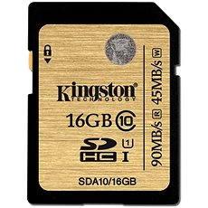 Kingston SDHC UHS-I 16 GB Klasse 10 - Speicherkarte