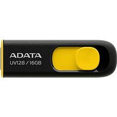 ADATA UV128 16GB schwarz-gelb - USB Stick