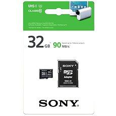 Sony 32 GB micro SDXC Class 10 UHS-I + SD-Adapter - Speicherkarte