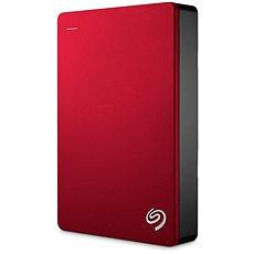 Backup Plus Tragbare Seagate 4TB rot - Externe Festplatte