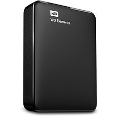 "WD 2.5"" Elements Portable 4TB Schwarz - Externe Festplatte"