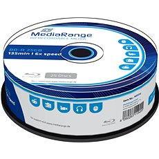 MediaRange BD-R (HTL) 25GB, 25 Stück cakebox - Media