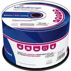MediaRange CD-R Inkjet Printable 50 Stk Cakebox - Media
