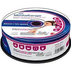 CD-R Media Inkjet Full Surface Printable 25 Stk Cakebox - Media