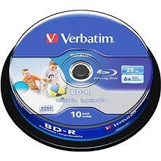 Verbatim BD-R SL 25 Gigabyte, 10Stk. -Dose - Media