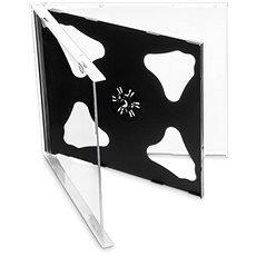 Hülle für 2 CDs - Schwarz 10 mm 10 Stk - CD-Hülle