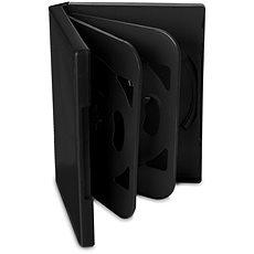 Cover IT für 6 Stück - schwarz, 24mm, 10er Pack - DVD-Hülle