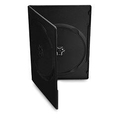 Boxen slimULTRA 2 Stück - schwarz, 7mm, 10er Packung - DVD-Hülle