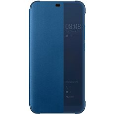 Honor 10 PU Flip Cover Deep Blue - Handyhülle