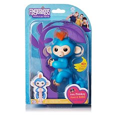 Fingerlinge - Affe Boris, blau - Plüsch-Spielzeug