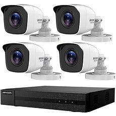 HikVision HiWatch HWK-T4142BH-MP, KIT, 2MP, Rekorder + 4 Kameras, 4-Kanal, 1 TB HDD - Kamerasystem