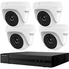 HikVision HiWatch HWK-T4144TH-MH, KIT, 4MP, Rekorder + 4 Kameras, 4-Kanal, 1 TB HDD - Kamerasystem