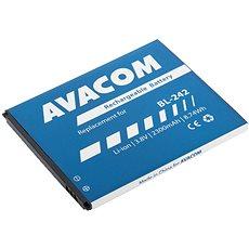 AVACOM Lenovo A6000 Li-Ion 3.8V 2300mAh (Ersatz BL242) - Ersatzbatterie