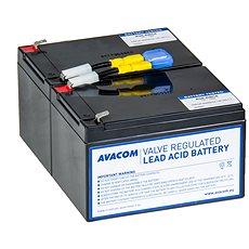AVACOM Ersatzbatterie-Kit für RBC6 - USV-Akku - Ladebatterie