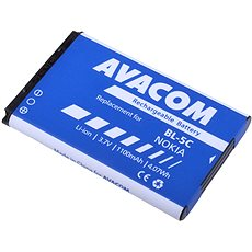 AVACOM für das Nokia 6230, N70, Li-Ionen-3.7V 1100mAh (Ersatz BL-5C) - Ersatzbatterie