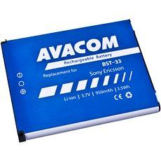 AVACOM für Sony Ericsson K550i, K800, W900i Li-Ion 3,7V 950mAh (BST Pay-33) - Ersatzbatterie