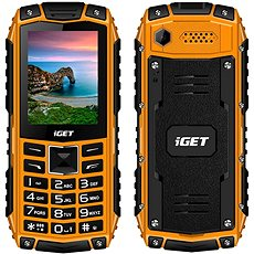 iGET Defender D10 Orange - Handy