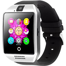 IMMAX SW7 Silber Smartwatch - Smartwatch