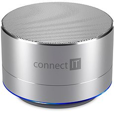 CONNECT IT Boom Box BS500S Silver - Bluetooth-Lautsprecher