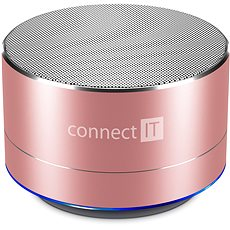 CONNECT IT Boom Box BS500RG Rose-Gold - Bluetooth-Lautsprecher