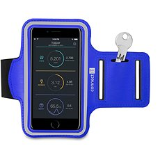 CONNECT IT CFF-1150-BL Fitnessarmband, Blue - Handyhülle