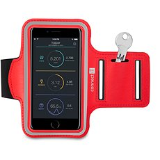 CONNECT IT CFF-1150-RD Fitnessarmband, Red - Handyhülle