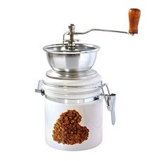 Toro Kaffeemühle, Porzellan, Edelstahl, Herzmotiv - Kaffeemühle