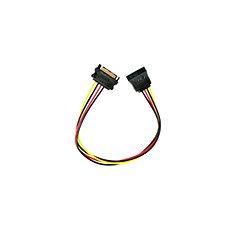 Gembird Cableexpert SATA Verlängerungs- und Stromkabel 0,3 m - Ladekabel