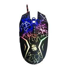 A4tech Bloody N50 Neon schwarz mit Neon-Hintergrundbeleuchtung - Gaming-Maus