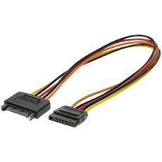 Verlängerungskabel SATA-Stromstecker 30 cm - Datenkabel