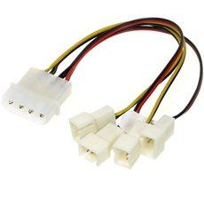 AKASA 4-Pin Molex PSU - Adapterkabel