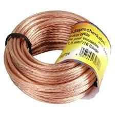 Hama Lautsprecher 2 x 1,5 mm2, 10 m - Audio Kabel